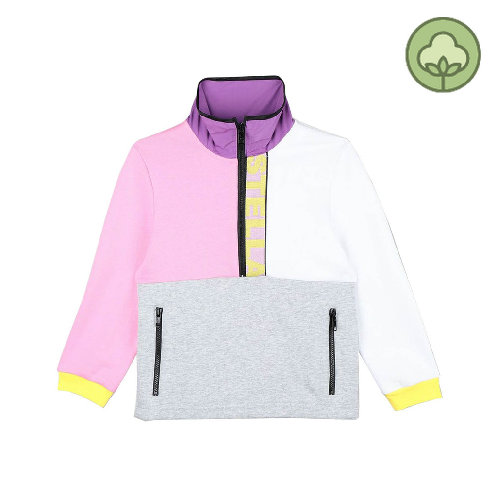 Stella McCartney Kids Logo Sport Sweatshirt