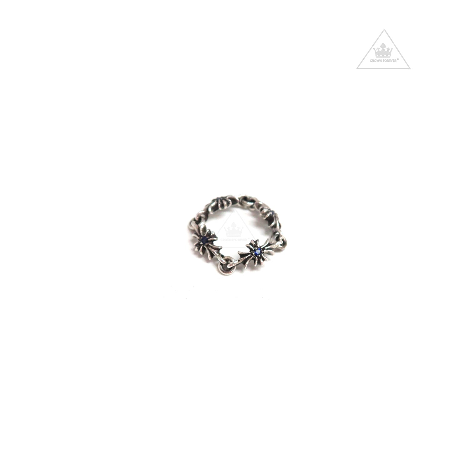 24531ffecd64 Chrome Hearts Tiny E CH Plus Ring – Crown Forever