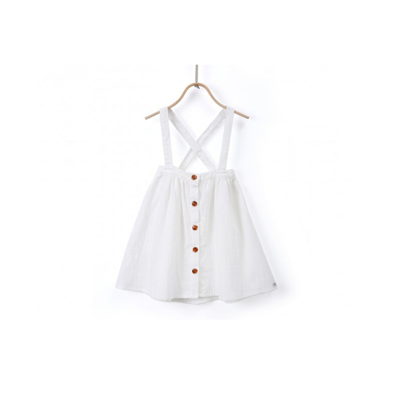Donsje Emma Skirt Off White Cotton