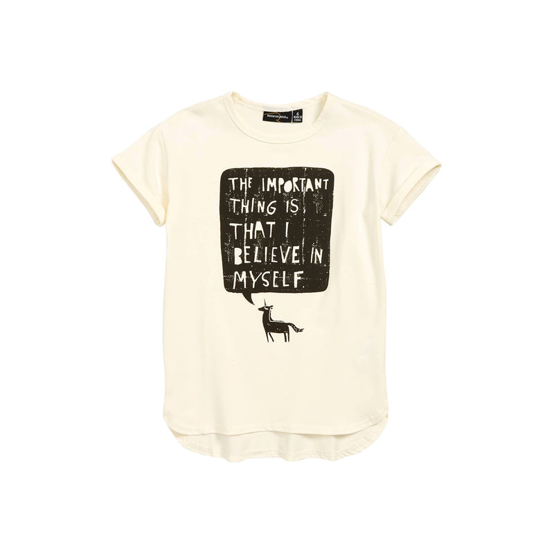 Rock Your Baby Believe in Myself Unicorn T-Shirt