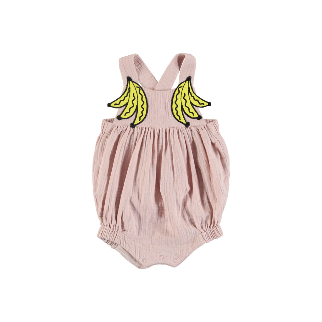Stella McCartney Kids Banana Patch Powder Pink Onesie