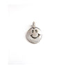 Bill Wall Leather Happy Face Charm 18K Stamp Cross Passion