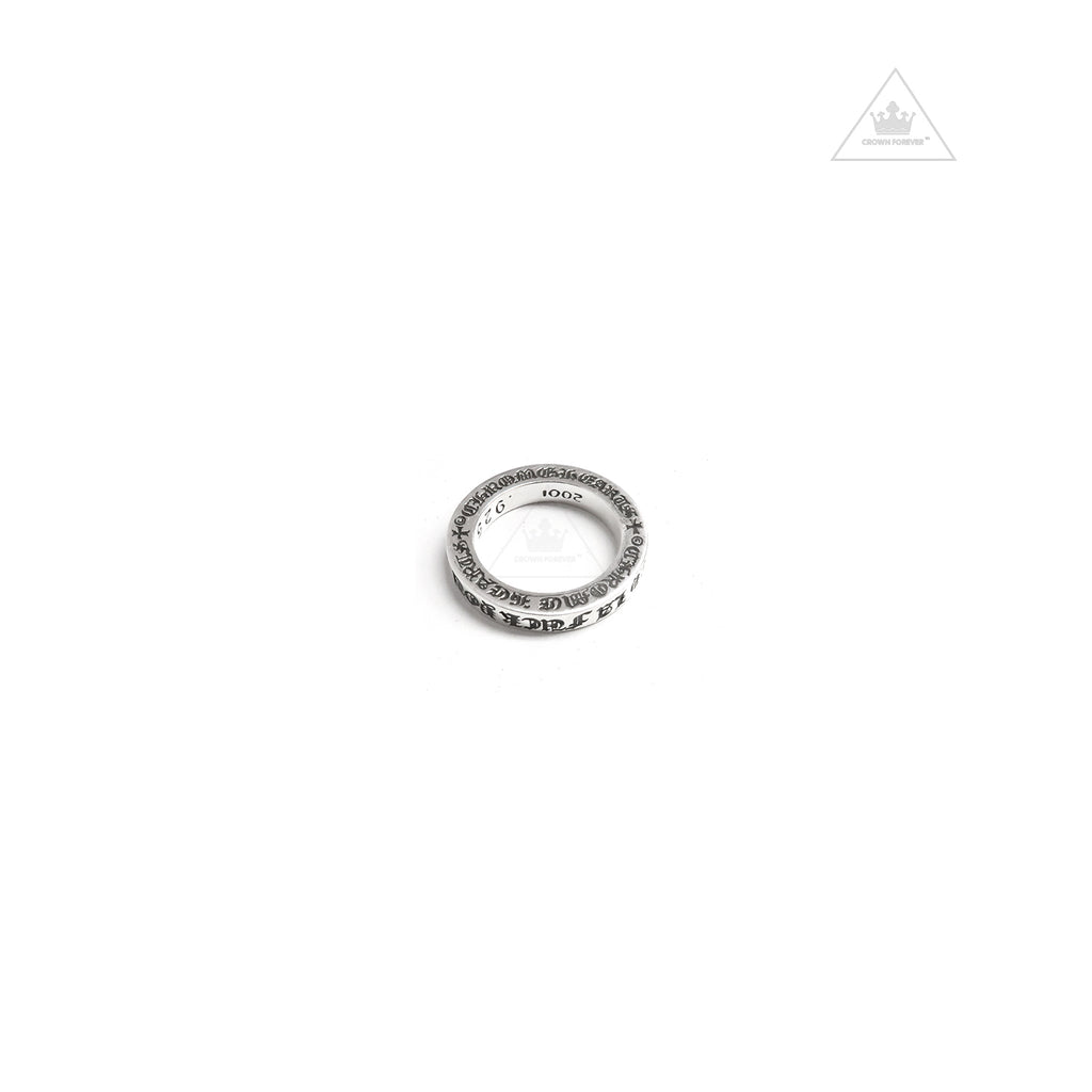 Chrome Hearts 3mm Fuck You Ring