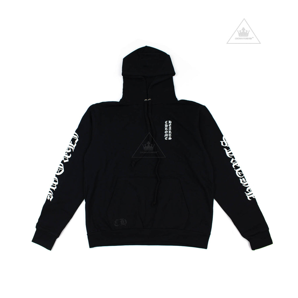 Chrome Hearts Letters Sleeve Fleece Pullover