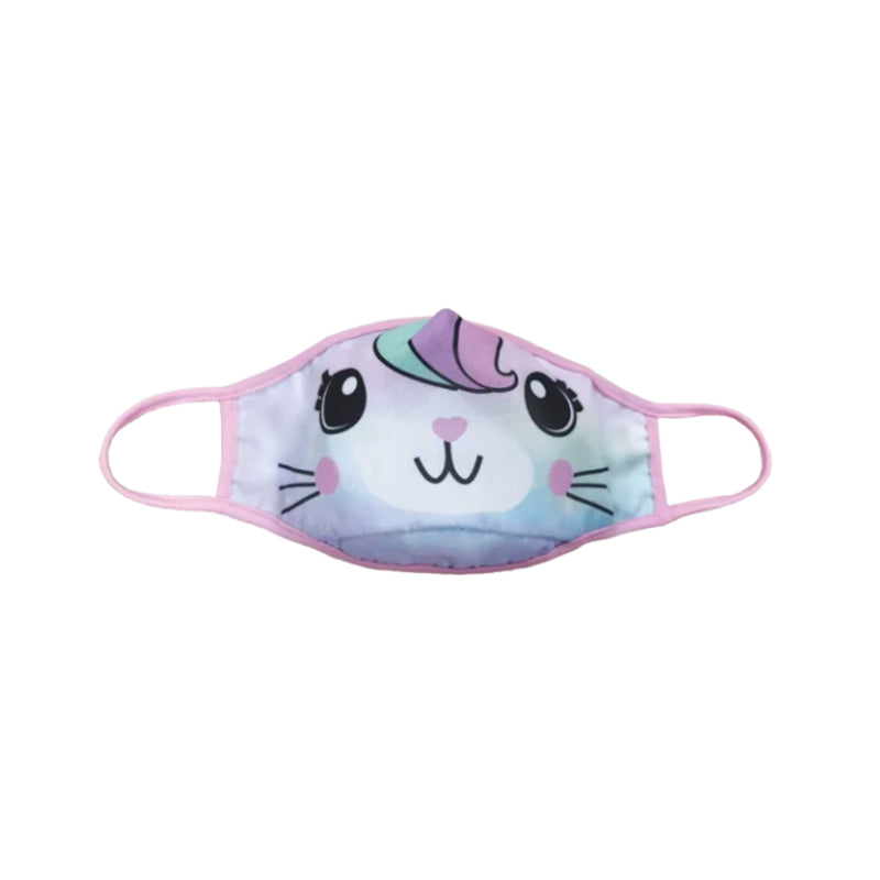 Iscream Caticorn Reversible Face Mask Kid's