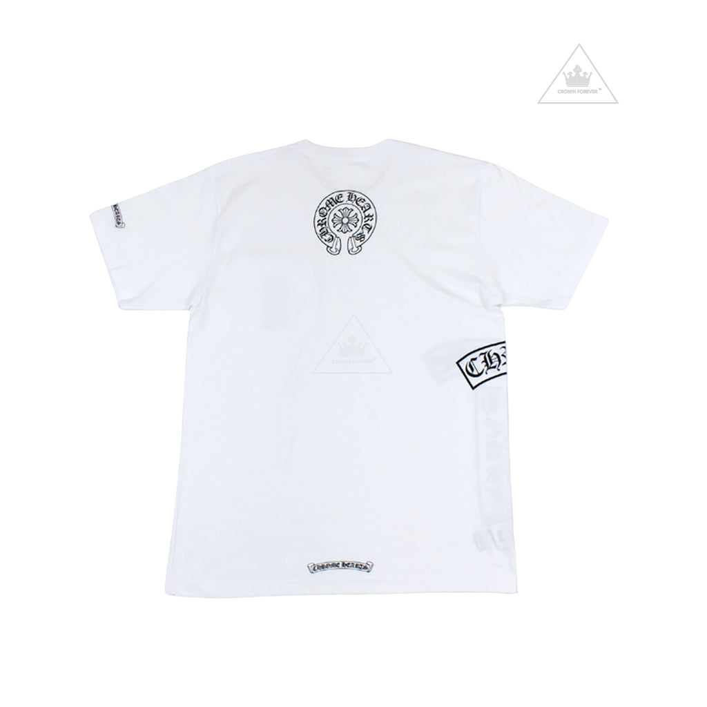 CH Horseshoe T Logo Short Sleeve Shirt White
