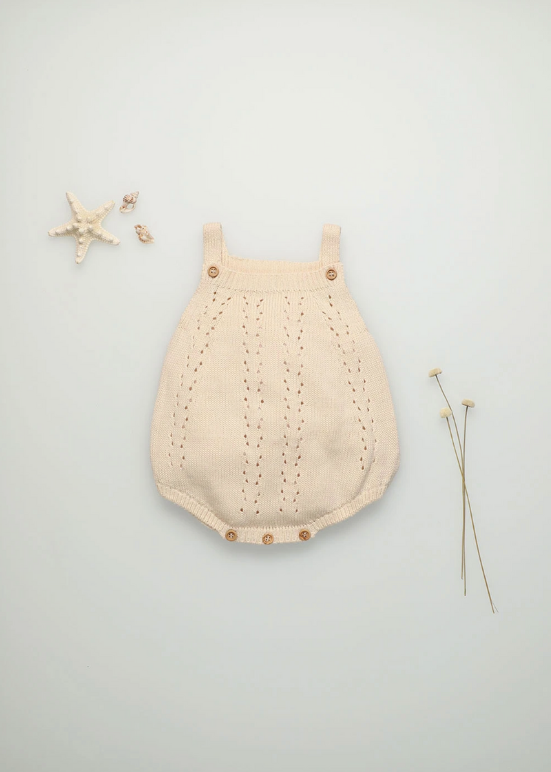The New Society Alice Baby Knit Romper