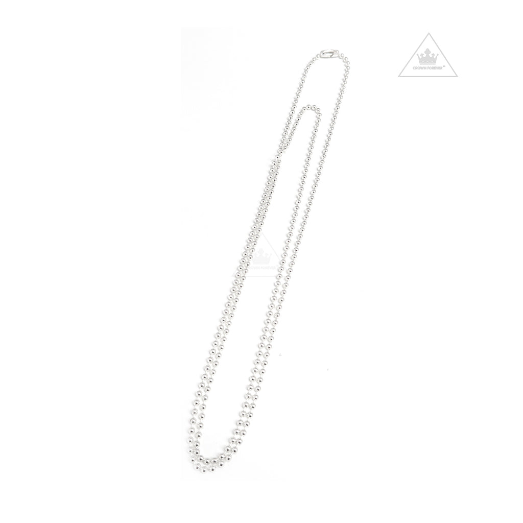 Chrome Hearts Ball Chain Necklace