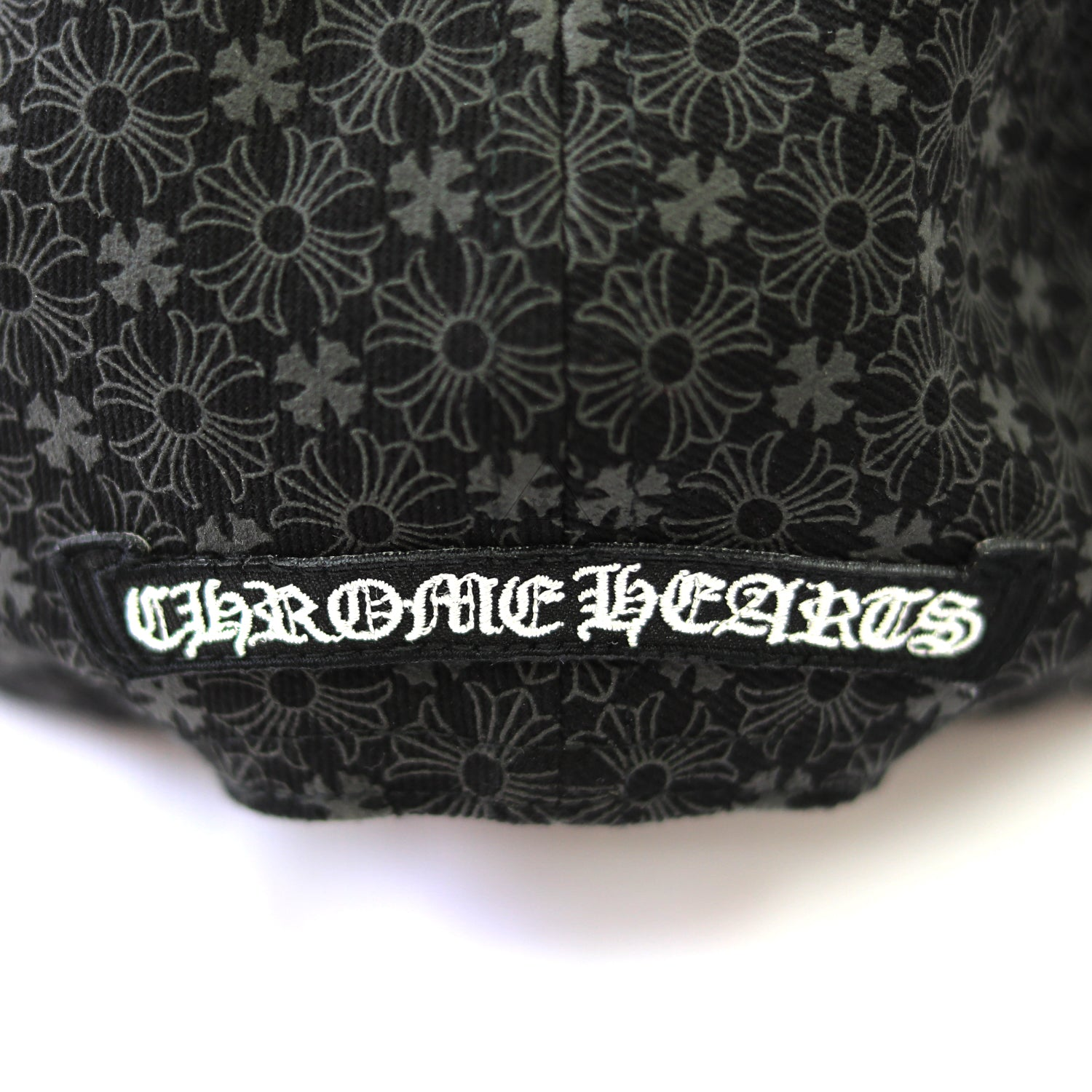 Chrome Hearts Plus Leather Patch Vented Trucker Hat