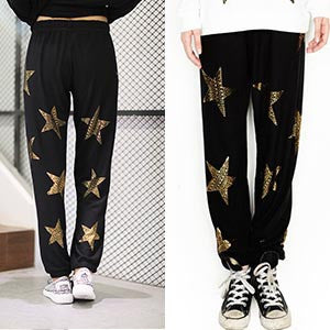 Lauren Moshi Golden Stars Pants
