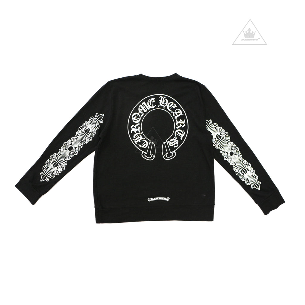 CH Men's Limited Horseshoe Floral Cross Long Sleeve