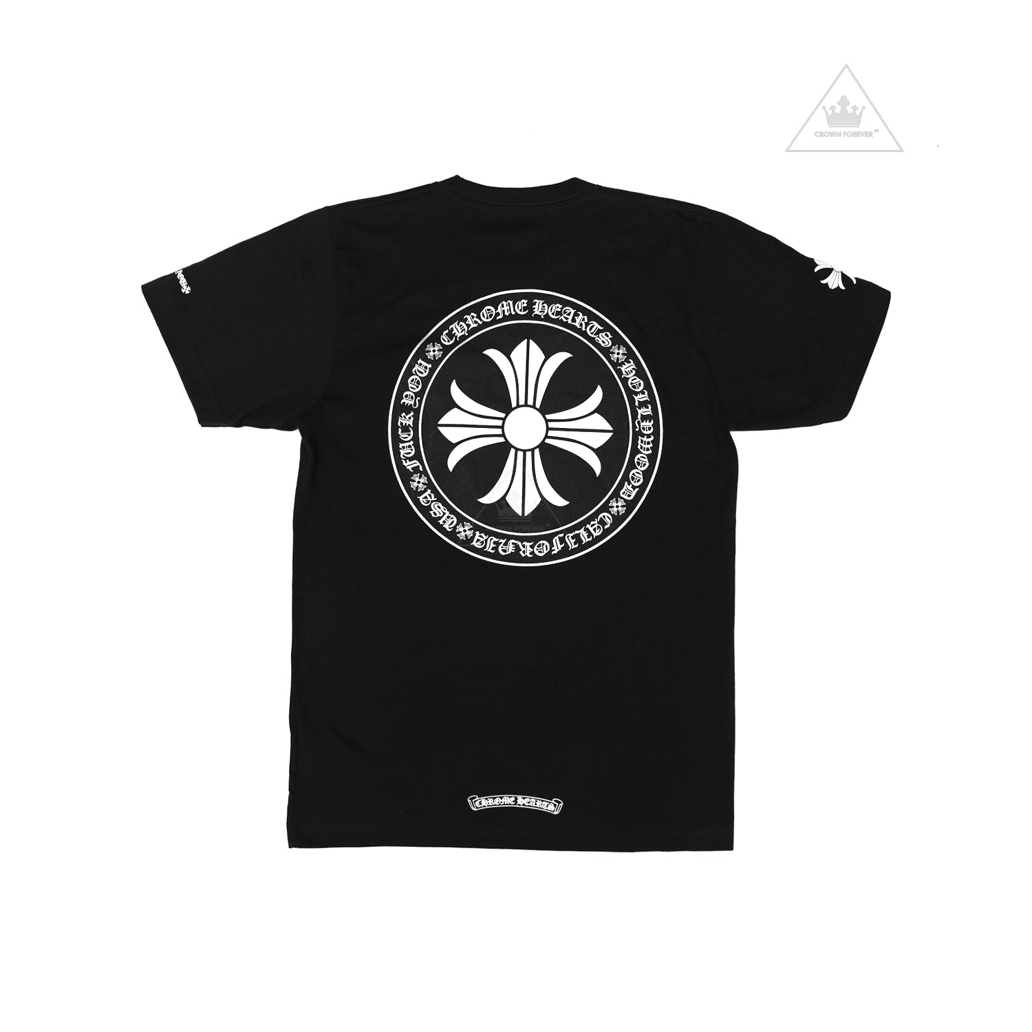 Chrome Hearts Seal Stamp Cross Tee Crown Forever