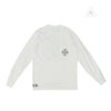 Chrome Hearts Plus Cross Circle Long Sleeve Tee