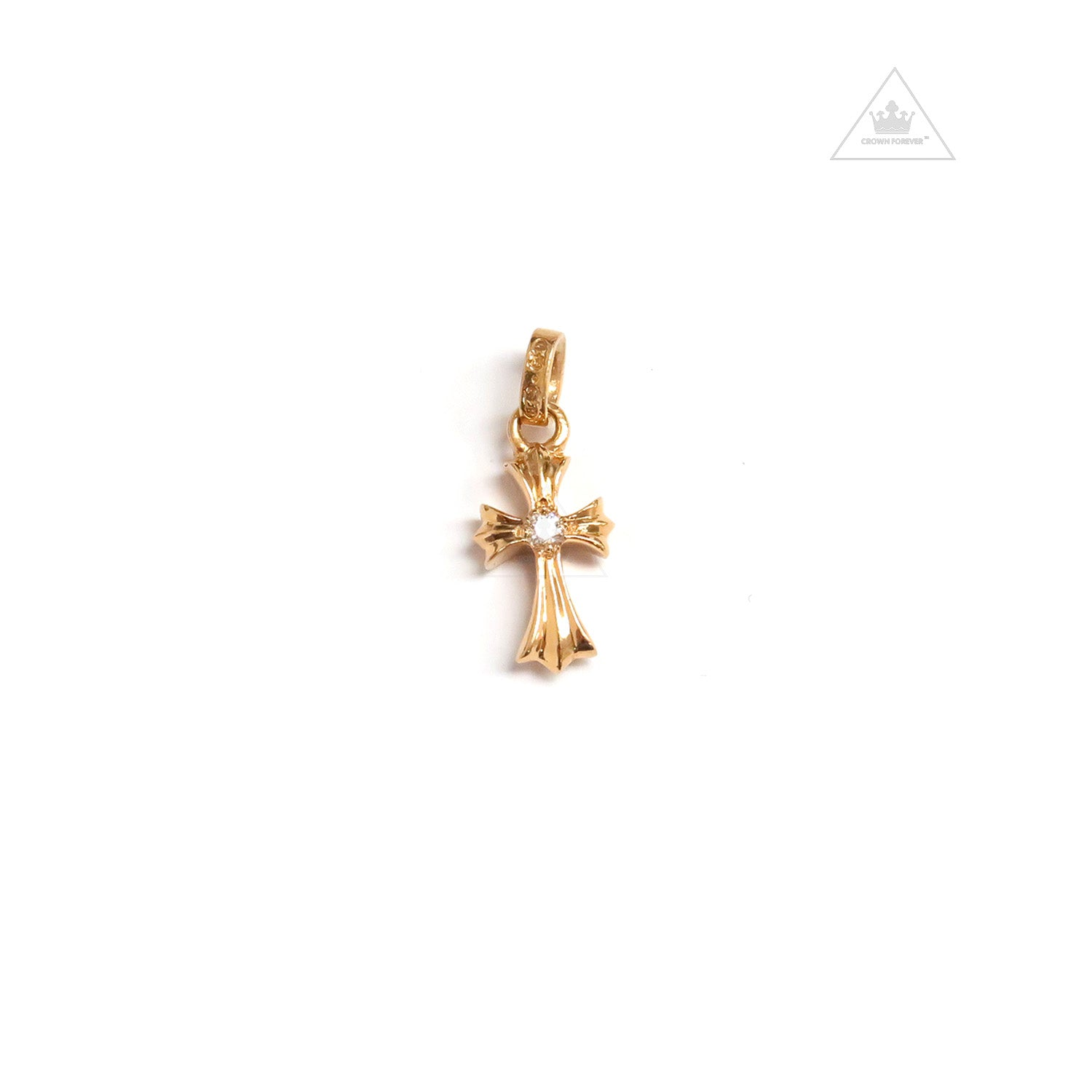 20bd09fe8a51 Chrome Hearts 22K CH Cross Baby Fat Charm – Crown Forever