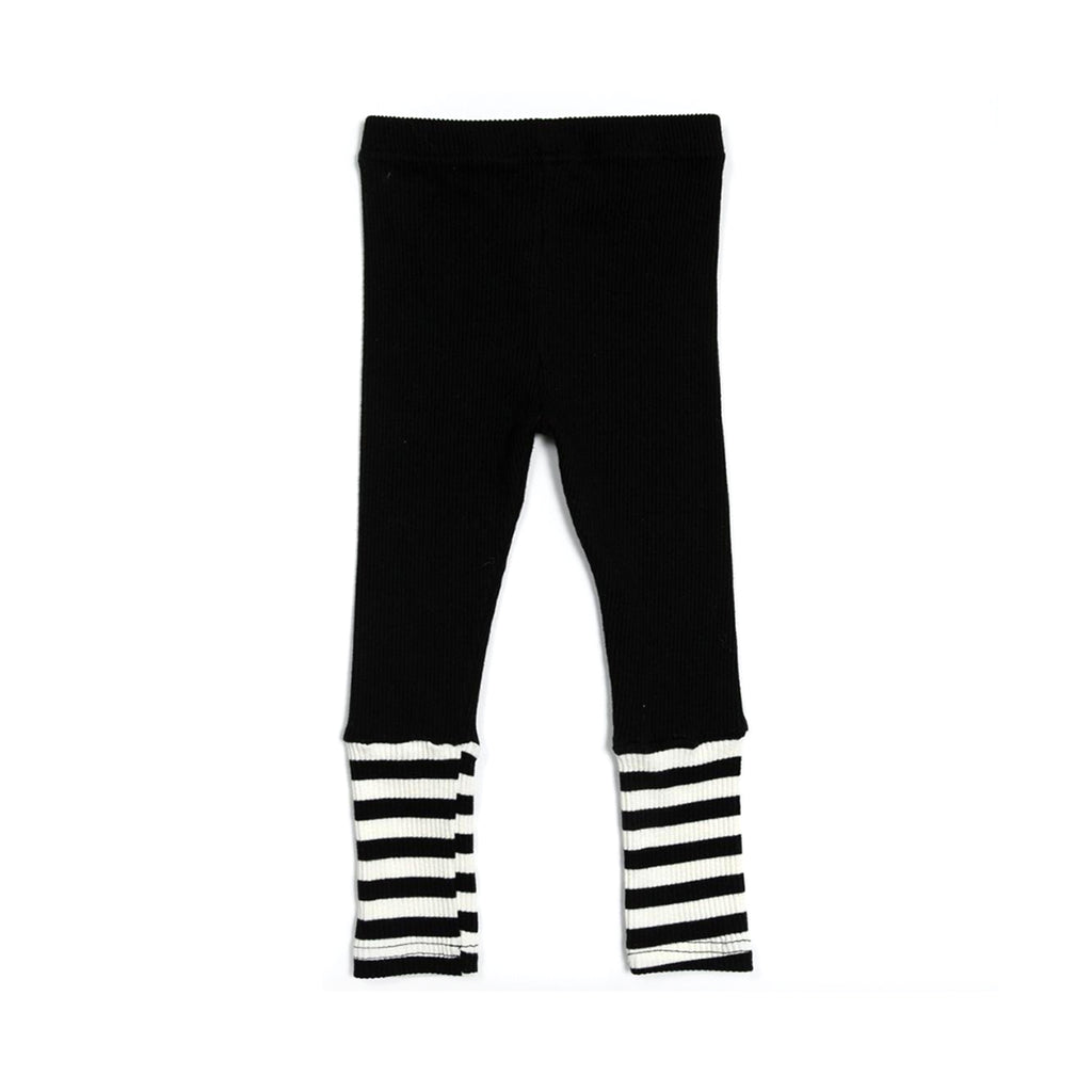 Petite Hailey Ava Combo Legging Black
