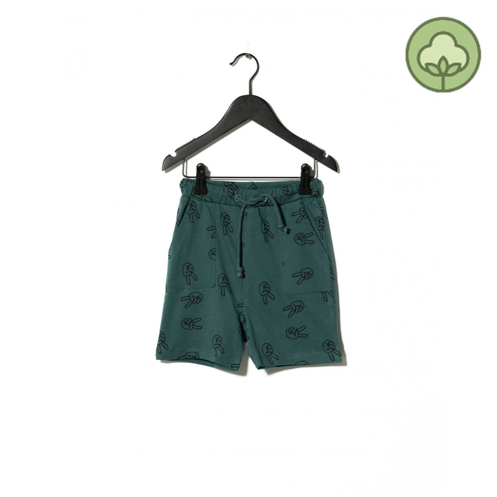 Sometime Soon Willow Shorts Green