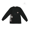 Chrome Hearts Guns and Roses Long Sleeve T Shirt
