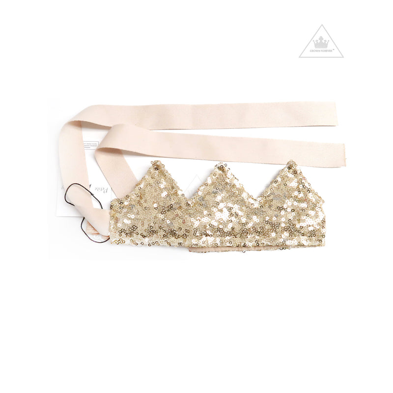 Petite Hailey Fabric Sequin Crown