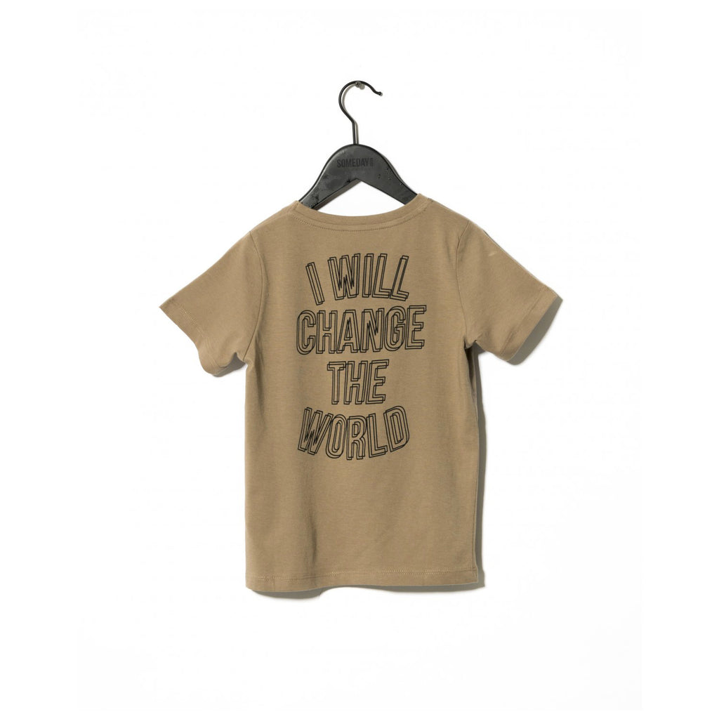 Sometime Soon Revolution T-Shirt Brown