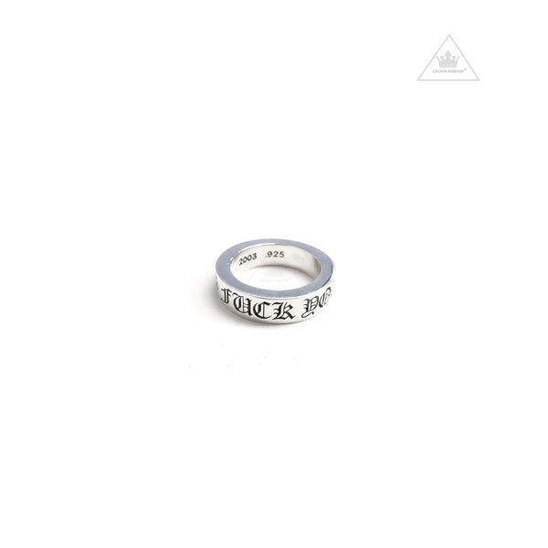 Chrome Hearts Fuck Forever Ring