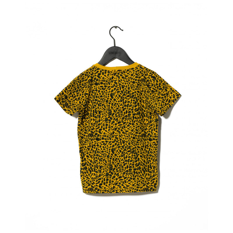 Sometime Soon Delano T Shirt Yellow