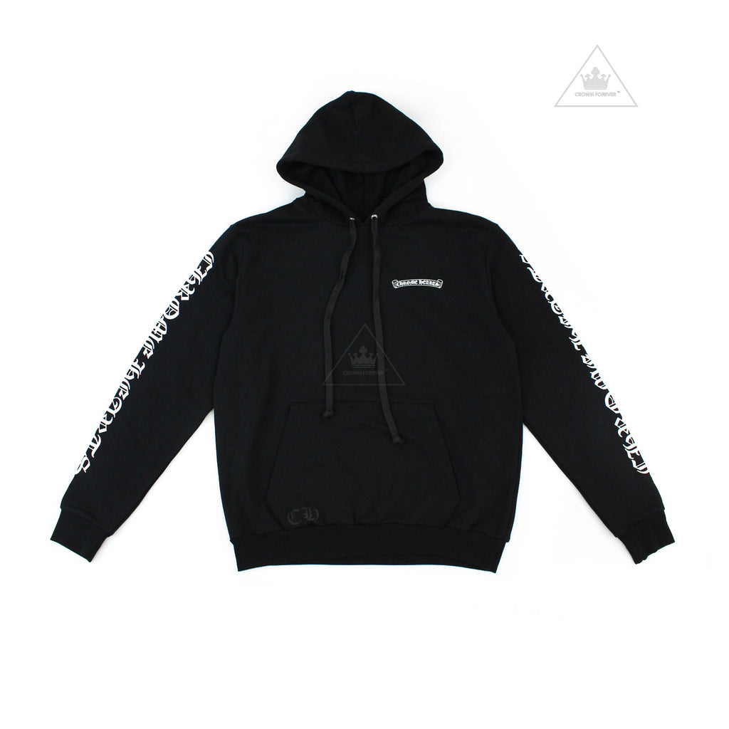 Chrome Hearts Scroll Label Pullover Hoodie