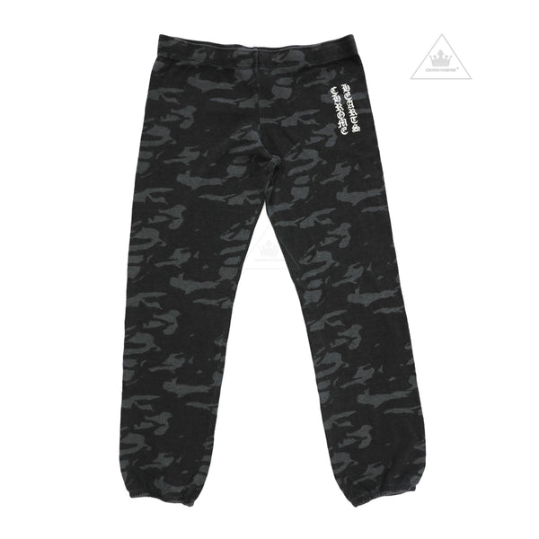 Chrome Hearts Mattyboy Grey Camouflage Sweat Pants