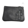 Chrome Hearts Leather Cross Coin Purse
