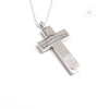 Chrome Hearts Framed Charm Cross Pendant