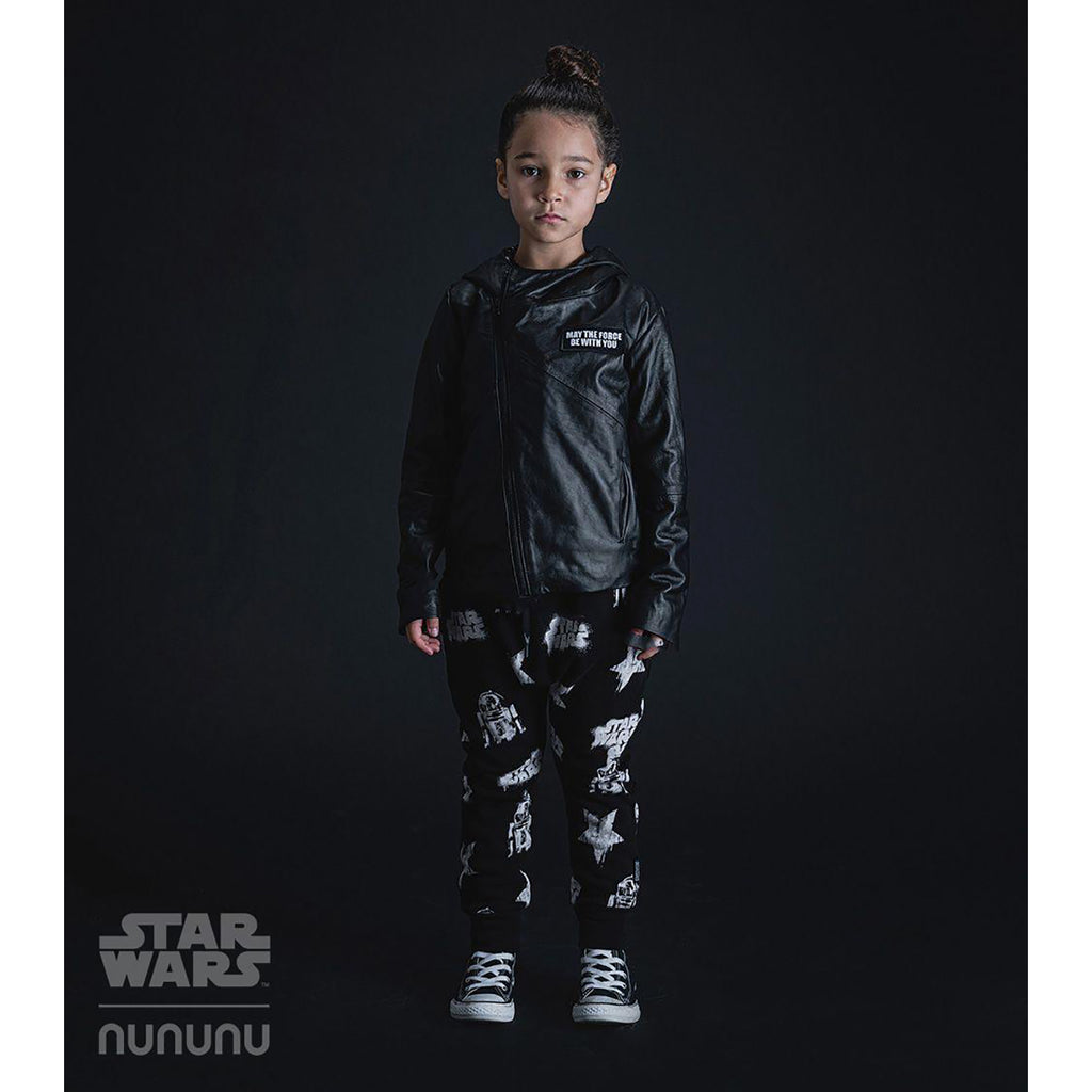 Nununu World Star Wars All Over Baggy Pants