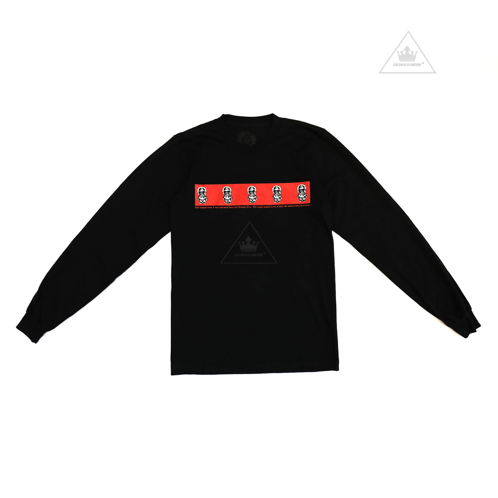 Chrome Hearts Foti Red Label Long Sleeve
