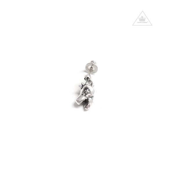 Chrome Hearts Dino Head Drop Earring