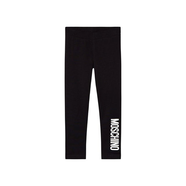 Moschino Kid Leggings With Logo