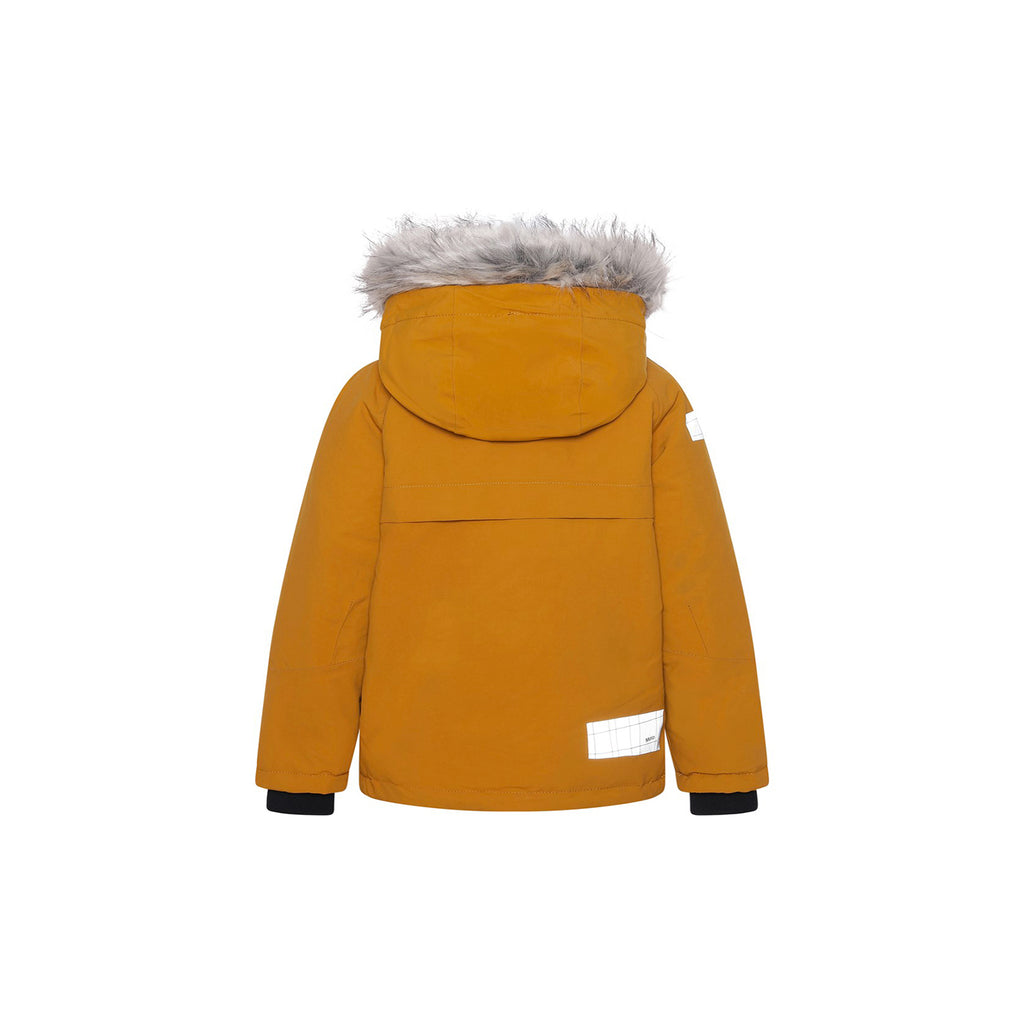 Molo Castor Fur Recycle Autumn Leaf