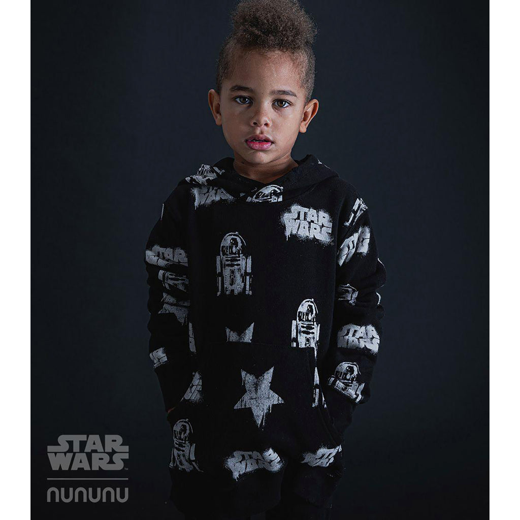 Nununu World Star Wars All Over Hoodie