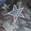 CH Plus Cross Five Pointed Star Silk Scarf