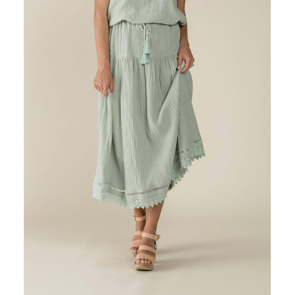 Rylee And Cru Mila Maxi Skirt