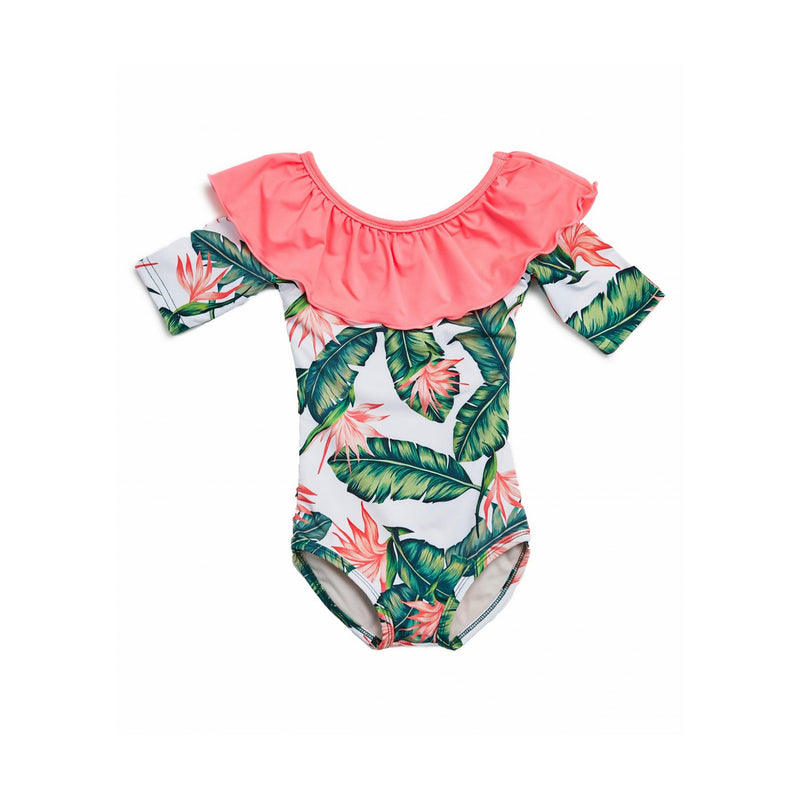 Petite Hailey Tropical Swimsuit