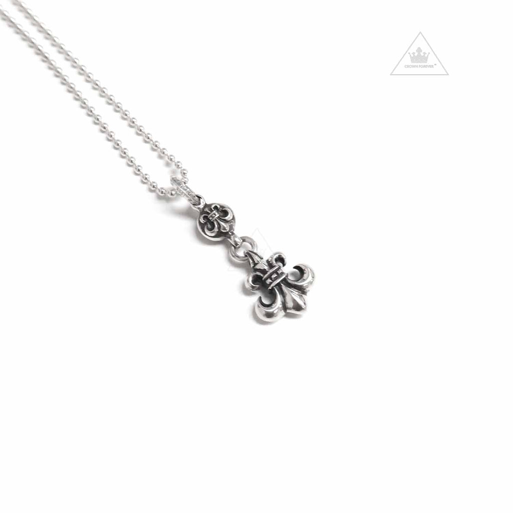 Chrome Hearts BS Fluer Ball Pendant Necklace Charm
