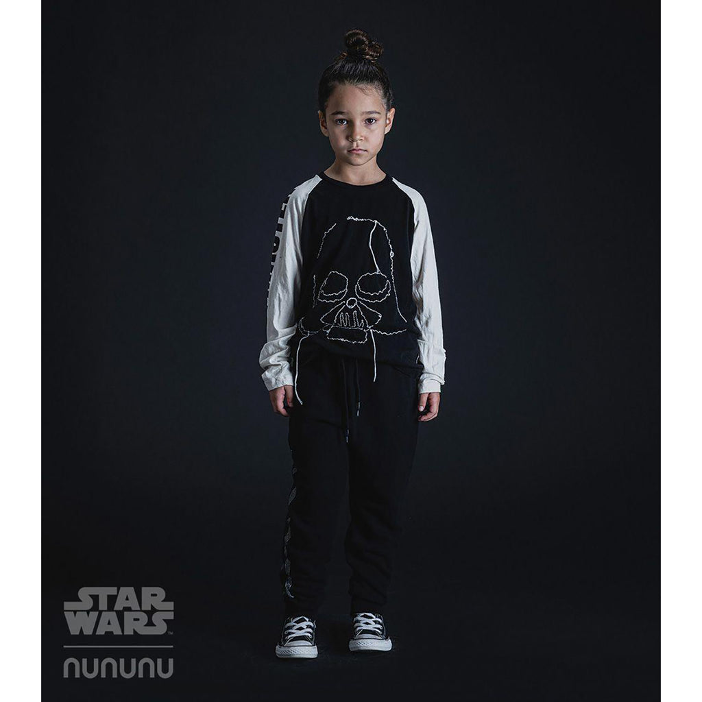 Nununu World Star Wars Embroidered Darth Vader shirt