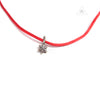 Chrome Hearts KZ Stack Charm Star V2 Choker Red