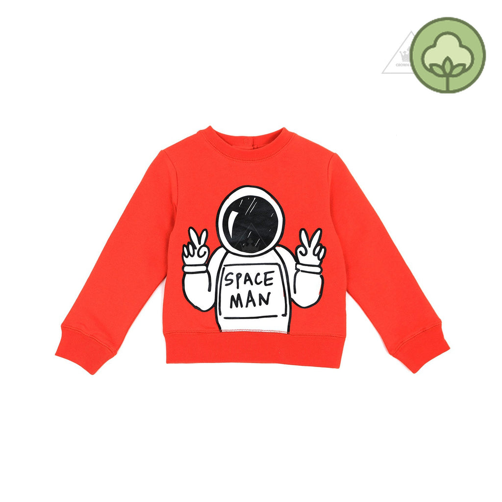 Stella McCartney Baby Boy Space Man Sweatshirt