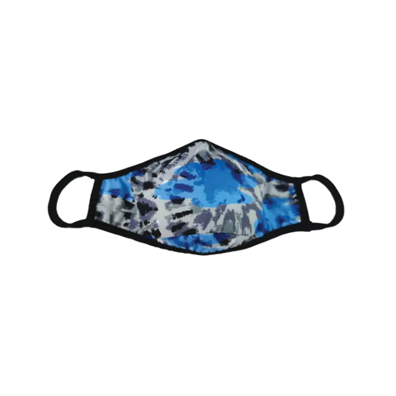 Iscream Blue Tie Dye Face Mask Kid's/ Adult's