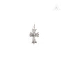 Chrome Hearts 18k White Gold Paved Diamond Cross