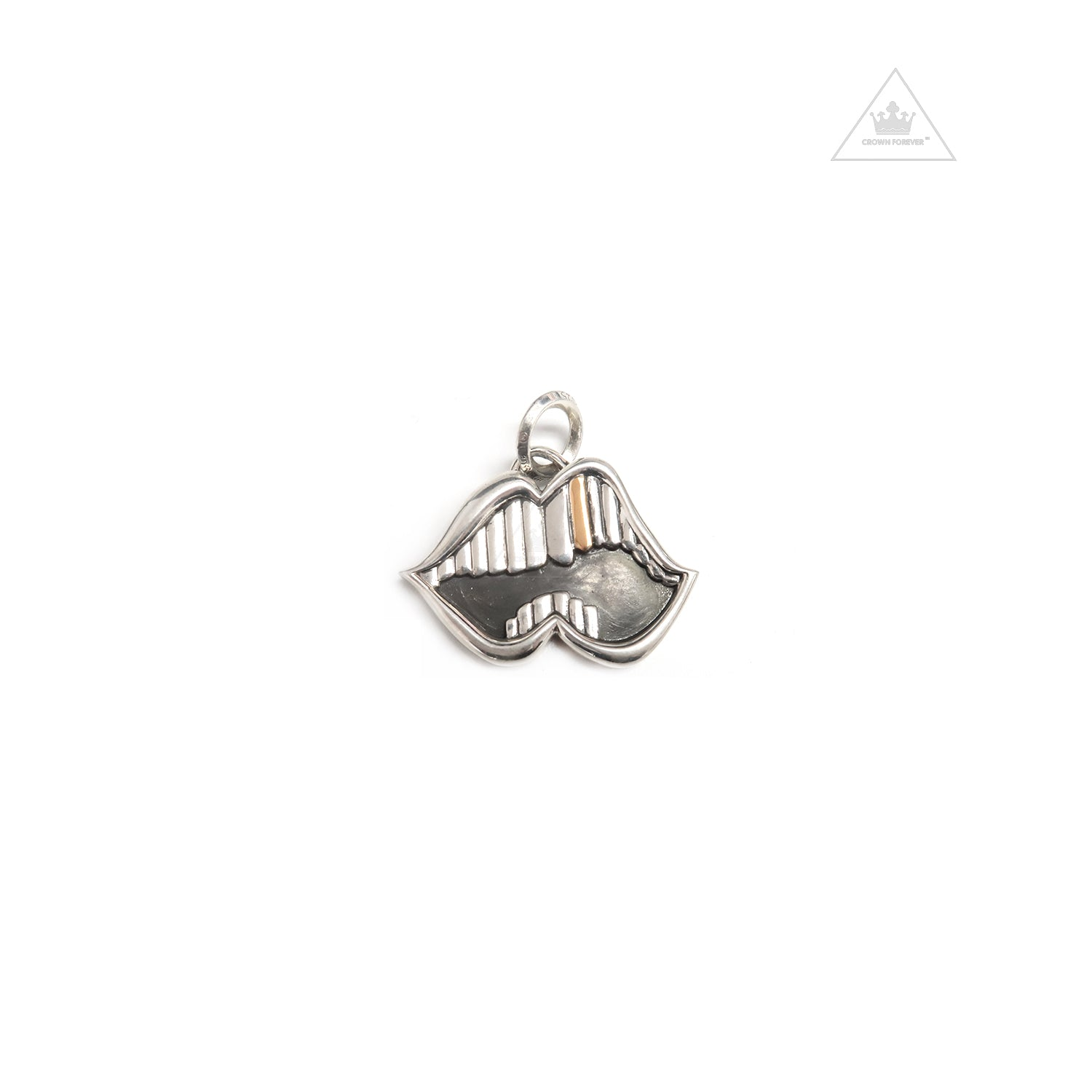 5899f9831464 Chrome Hearts Chomper Pendant – Crown Forever