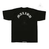 Chrome Hearts Malibu Script Tee Black Crown Forever