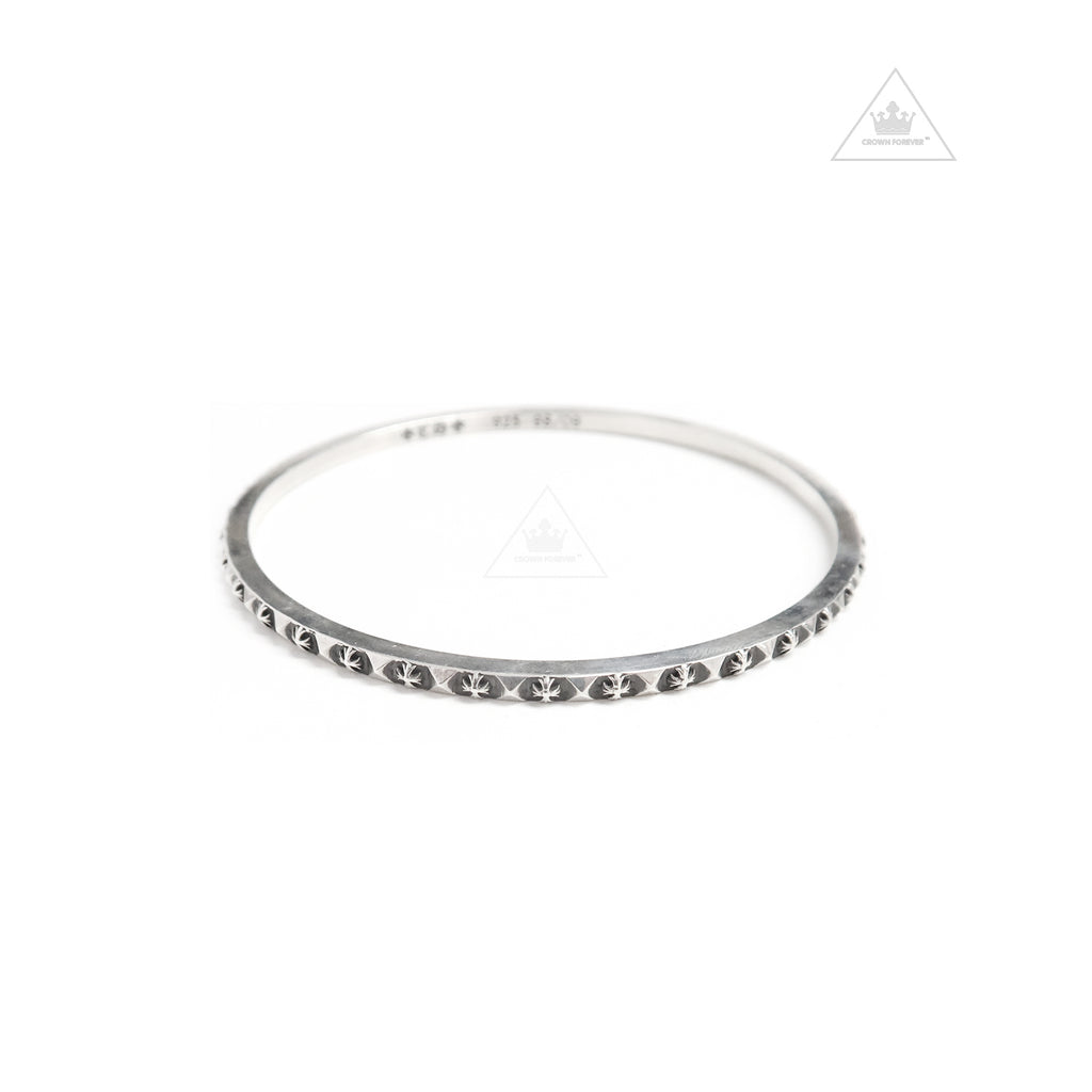 CH Silver plus punk Bangle