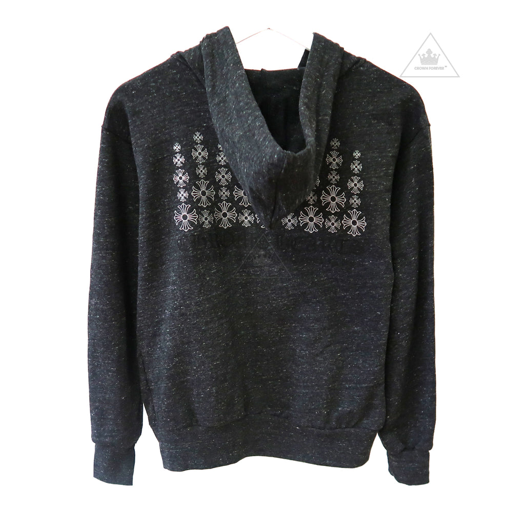 Chrome Hearts Snowflake Plus Cross Zip Hoodie