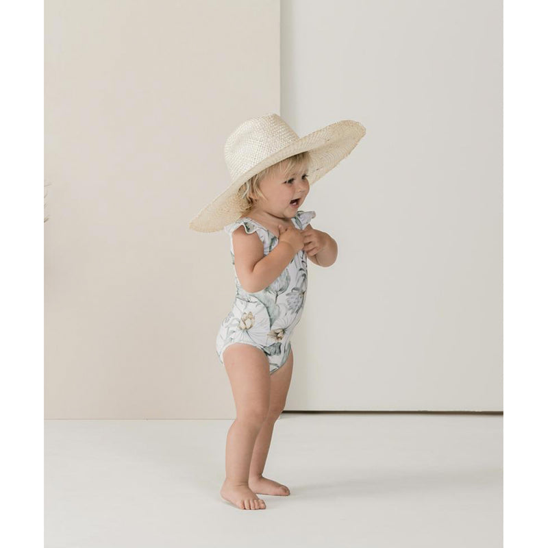 Rylee And Cru Tropical Frill Onepiece