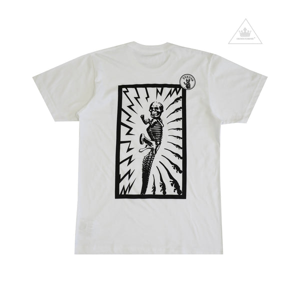 Chrome Hearts Foti Jarvis Electric Tee in White